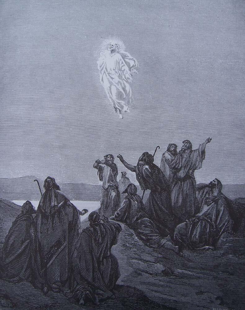 Gustave Dore - Wniebowstąpienie.