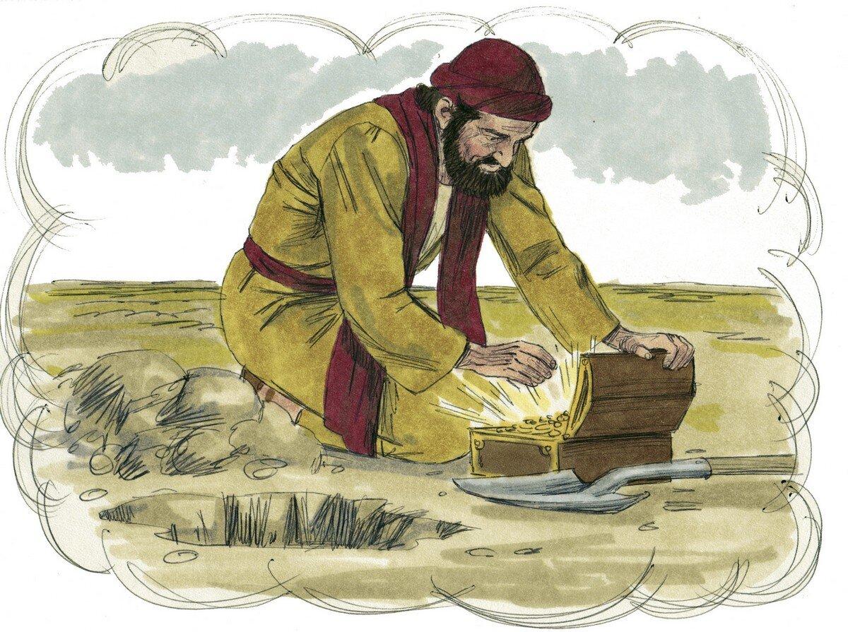 przypowieść o skarbie ukrytym w ziemi – Badacze Biblii
