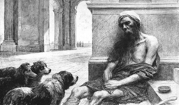 Bogacz i Łazarz - jedna z trudniejszych przypowieści Pana Jezusa